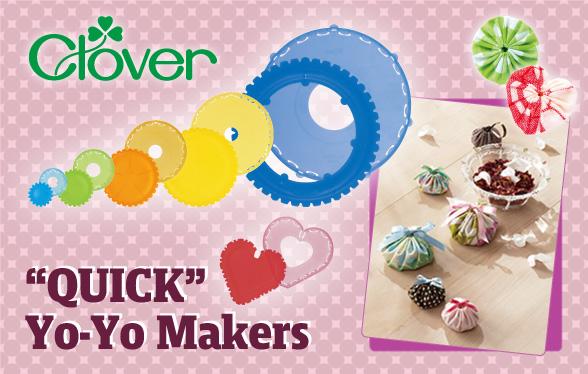 "/""Quick/"" Yo-Yo Maker ~ Extra Small   ~  Clover"