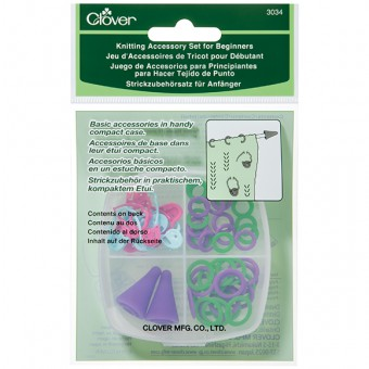 1 Clover Double-Ended Stitch Holder Small Multi-Colour