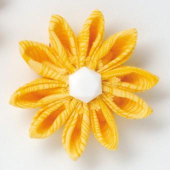 Kanzashi Blumen Schablone Clover