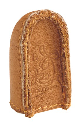 Clover Medium Natural Fit Leather Thimble # 2 Pack